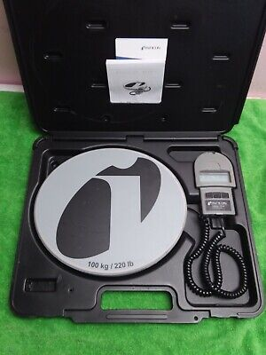 Inficon Wey-tek 713-500-g1 220 Lbs 100 Kg Refrigerant Charging Ac Scale And Case