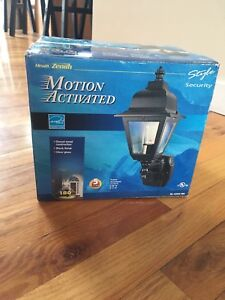 Motion Activated outdoor light