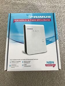 how to connect iprimus modem