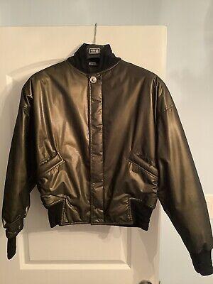 Vintage Versace Mens Bomber Jacket Coat Size medium 50 IT.
