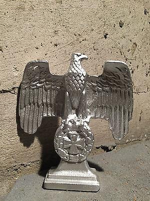 Preussen Adler Statur, Reichsadler - EK 1914 - 16x18cm Metallguss