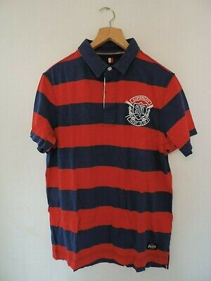 Superdry Vintage Valiant Rugby Shirt Size 2XL rrp £54.99 DH004 FF 08