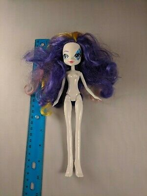 My Little Pony Equestria Girls Rarity Doll Rainbow Streaks Nude for Play/OOAK - My Little Pony Nude