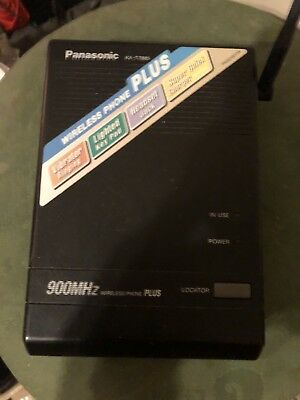 Panasonic Kx-t7885 900mhz Wireless Phone Base Fast Shipping