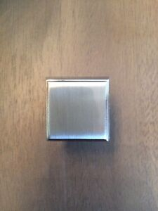 RESTORATION HARDWARE KNOBS SATIN  NICKEL