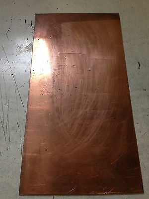 Copper Sheet 18 X 2 X 5