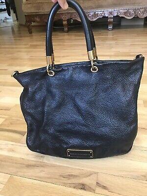 Marc by Marc Jacobs Black Leather Shoulder Bag