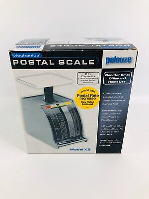 Pelouze X2 Mechanical Postal Scale 2002 New In Box Manual