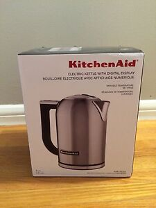 Brand New Stainless Steel KitchenAid Electric Kettle!!