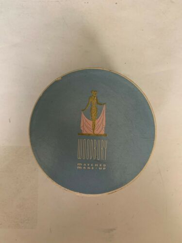 Vintage Woodbury Flesh Colored Controlled Powder Box
