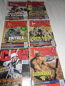 Combat & Survival Magazine Volume 6 to 10 all up 54 Magazines McDowall Brisbane North West Preview