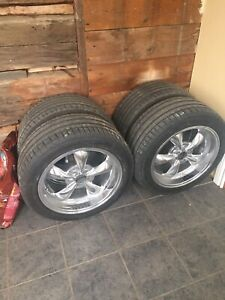 Wheels n rubber.