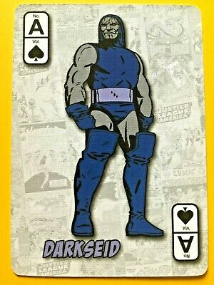 Justice League America - Darkseid ACE of SPADES Swap Playing Card DC Comics