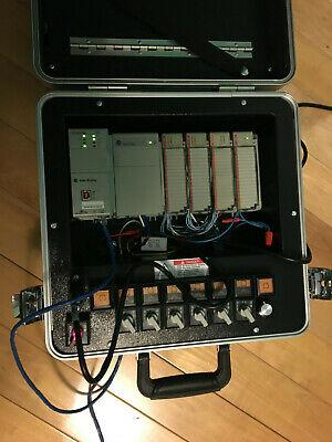 Allen Bradley Plc Compactlogix Plc Training System 1769-l30er