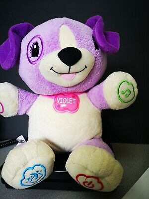 """Leapfrog My Pal Violet USB Interactive Leap Frog Learning Path Scout Toy 12"""""""
