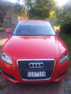2010 A3 low mileage with rego