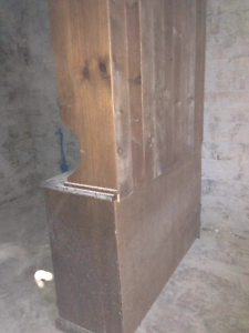 Solid Timber Display Unit Turrella Rockdale Area Preview