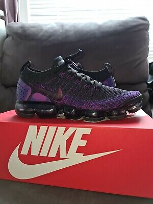 Nike Air Vapormax Flyknit 2 purple MINT condition size 8.5