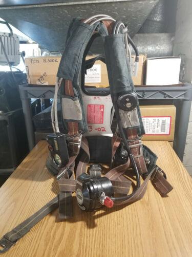 Used Scott 2.2 Air Pack SCBA Harness EZ FLO Regulator Vibralert