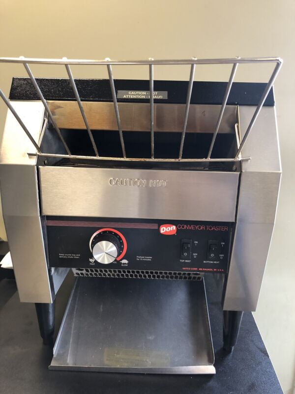 Hatco TC-DON-208 Conveyor Toaster 208V GREAT Condition
