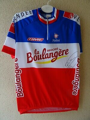 MAILLOT VELO signé Champion France 2003, ROUS Didier