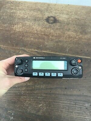 Motorola Xtl2500 Radio Control Head M21urm9pw1an Untested