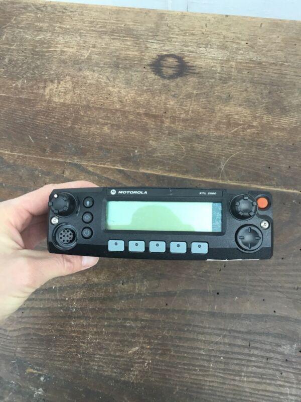 Motorola XTL2500 Radio  Control Head  M21URM9PW1AN Untested