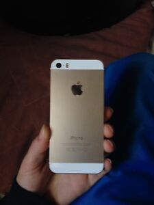 unlocked gold iphone se for sale!!
