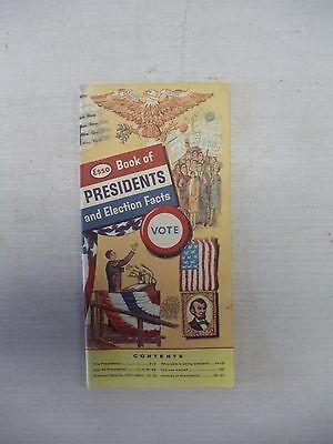 OLD VINTAGE ANTIQUE ESSO PRESIDENTS FACTS 1964 PAMPHLET ADD FLYER ADVERTISEMENT