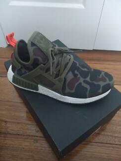 Adidas NMD Xr1 Duck Camo olive US 8 *worn*