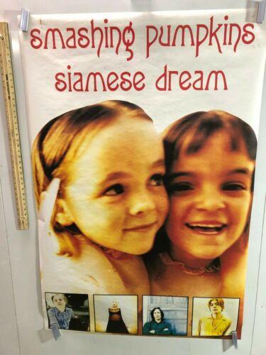 HUGE SUBWAY POSTER Smashing Pumpkins Rare Siamese Dream album promo Mayonnaise
