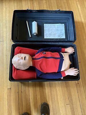 Laerdal Resusci Junior Child Cpr Full Body Training Manikin W. Accessories Case