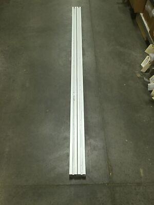 Lot Of 2 Bosch 60x60 Aluminum Extrusion Framing Beams Length 2210mm 87