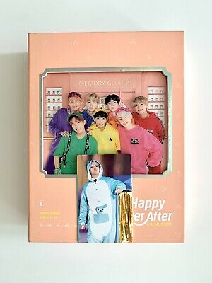 BTS 4th Muster Happy Ever After DVD with SUGA & J-Hope Photocard Mint Rare