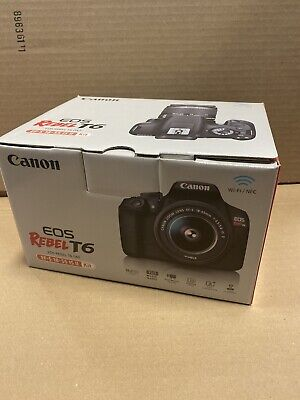 Canon Rebel T6 Digital SLR Camera 18-55mm Kit USA New US Manufacturer warranty