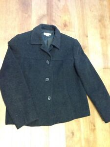 Women's wool jacket