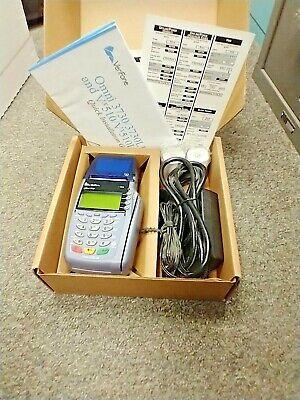 Verifone Vx510 Omni 3730 Le Credit Debit Card Machine Merchant Terminal Cable