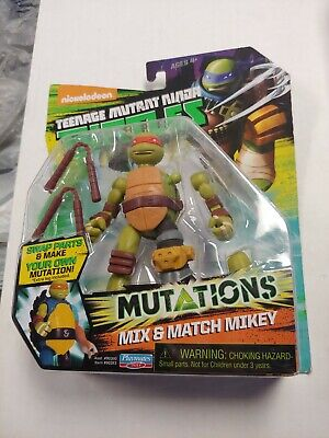 TMNT Mutations Mix And Match Mikey -Action Figure 2014
