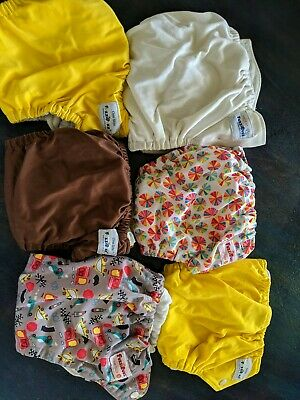 Fuzzibunz Cloth Diapers Lot Of 6
