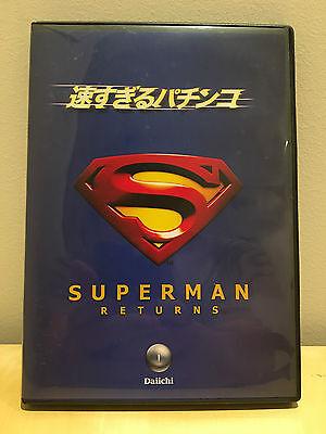 CR SUPERMAN RETURNS PACHINKO JAPANESE SALES PROMO VIDEO DVD VERY RARE DAIICHI