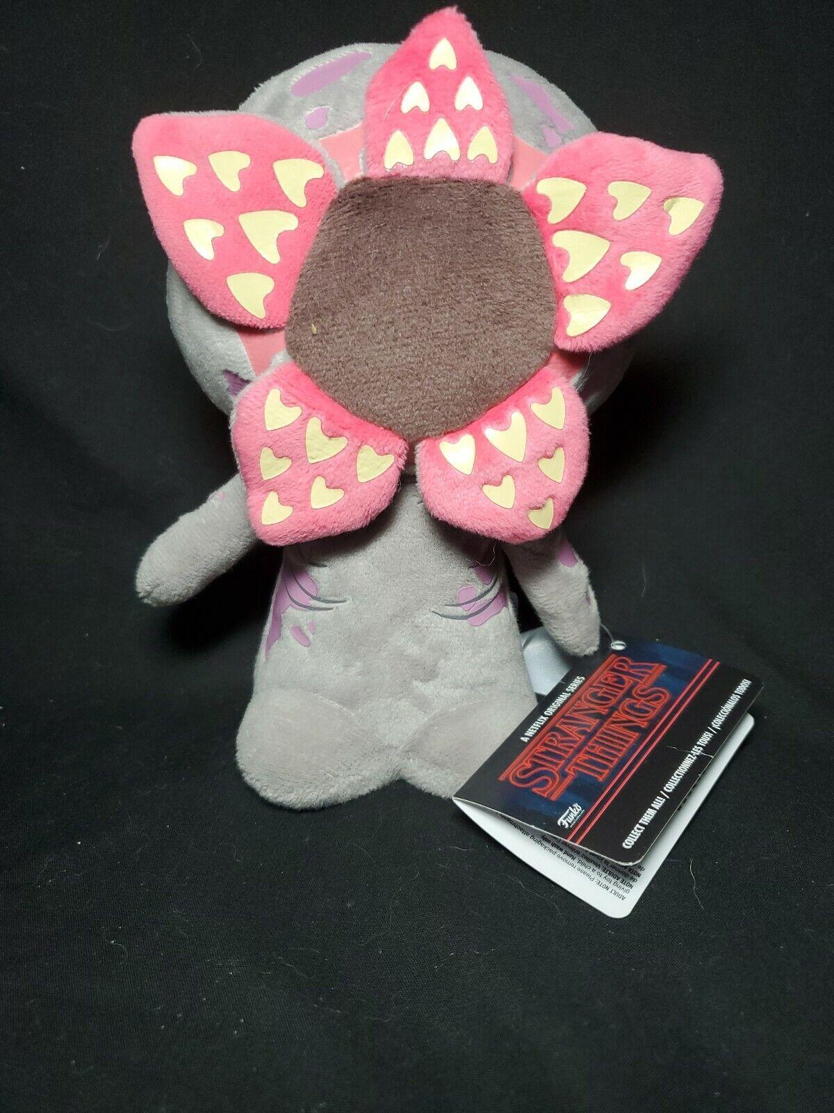 Stranger Things Demogorgon Eleven with Eggo Plush Toy Soft Stuffed Figure Doll