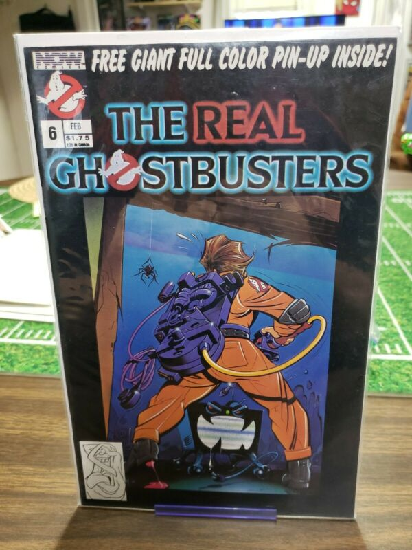 THE REAL GHOSTBUSTERS #6 (Based on the Animated TV Show) Now Comics, 1988