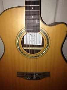 Steel string guitar with pickup Blacktown Blacktown Area Preview