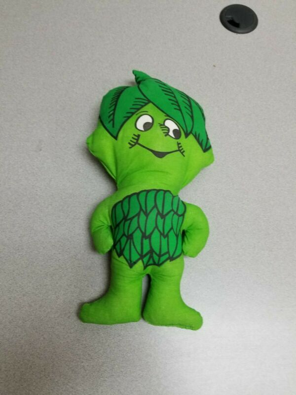 Vintage Jolly Green Giant Vegetables Promo Advertising Cloth Doll Little Sprout