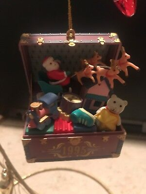ENESCO CHRISTMAS ORNAMENT: TOYS TO TREASURE New 6th in series