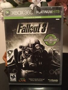 Fallout 3 for xbox 360/ xbox one