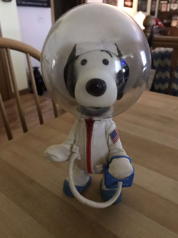 Rare 1969 Snoopy Astronaut Doll Determined Productions Vintage