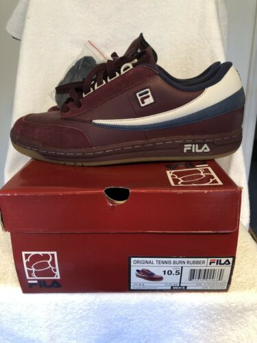 Fila x Burn Rubber Original Tennis Dough Boy Men's Size 10.5 Deadstock all OG