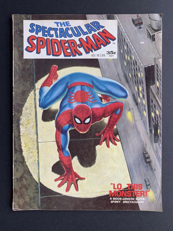 The Spectacular Spider-Man Magazine # 1 (Marvel 1968)