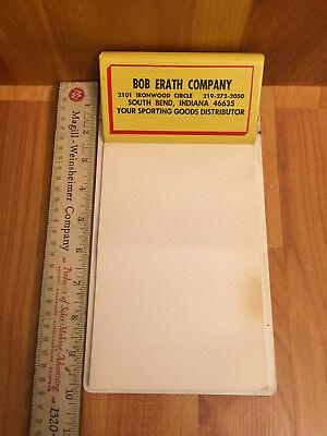 Vintage Advertising Clip Board- Bob Erath Comp.